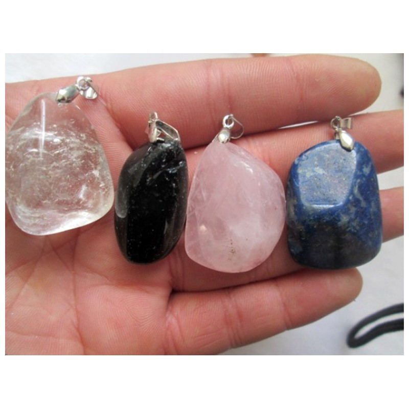 Colgante de piedras naturales for Piedras naturales