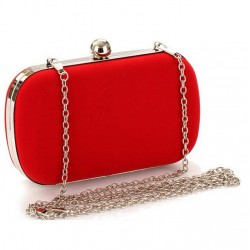 Red or Black Evening Bag Clutch