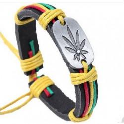 Pulsera de cuero Jamaica