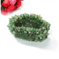 Natural Aventurine Chip Beads Gem stone Bracelet