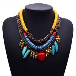 Bohemian Beaded Necklace Mayaguana