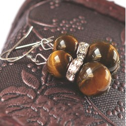 Natural soton Tiger's Eye pendants