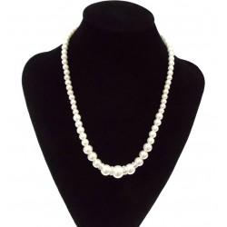 Collar con perlas sintéticas Manacor