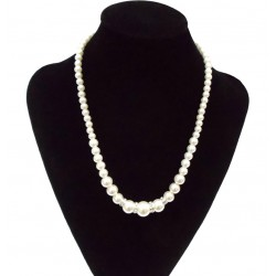 Necklace with Acrylic Pearls Manacor