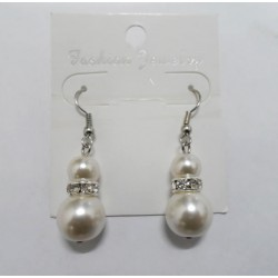 Earrings with Sintetic Pearls Manacor