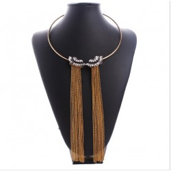 Long tassel necklace Zaphyr