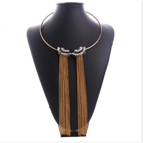 Long tassel necklace Zaphyr
