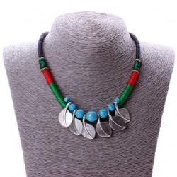 Collar estilo étnico Mixteco