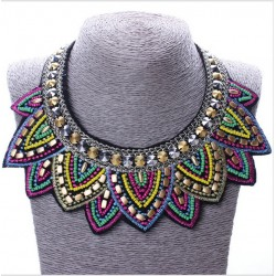 Colorful Chocker Necklace Mykena