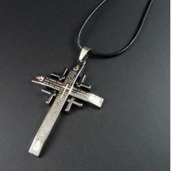 Collar de Cruz Católica