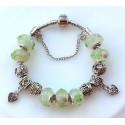 Charmilia beads Bracelets with silver charms