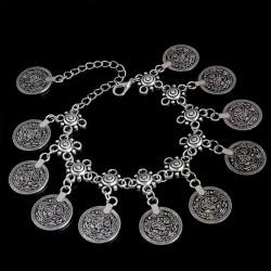 Pulsera Vintage con Monedas