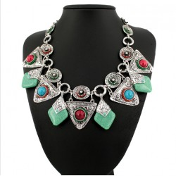 Bohemian Ethnic Necklace Azahara