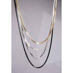 Long Four Layers Necklace