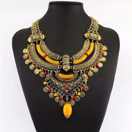 Bohemian Vintage Necklace Sciacca