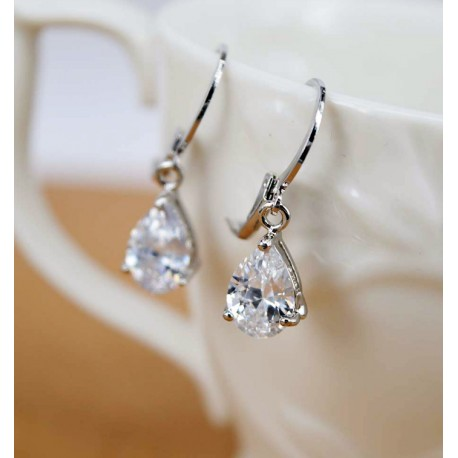 Crystal Teardrops Earrings