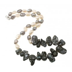 Natural Freshwater Keishi Pearls Necklace
