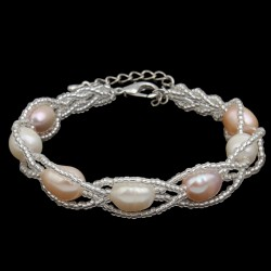 Freshwater Cultured Pearl 7-8mm Bracelet