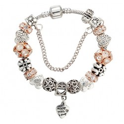 "Bracelet with Charms ""Love"""