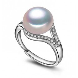 Adjustable Freshwater Cultured Pearl Ring