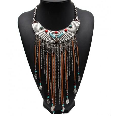 Collar estilo étnico tribal Sioux