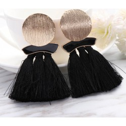 Bohemian Ethnic Long Tassel Fringe Earrings Tamesis