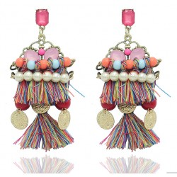 Bohemia Style Handmade Drop Earrings Cochabamba
