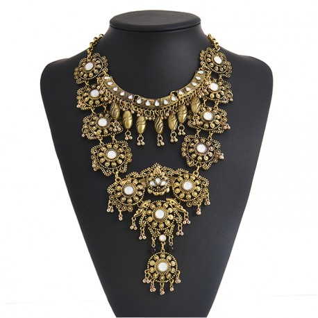 Maxi Vintage Bohemia Necklace Ethnin Stile Mumbai