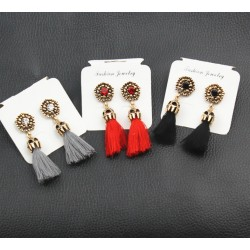 Long tassel Fringe Earrings Elba