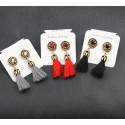 Long tassel Fringe Earrings Elba