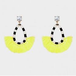 Cotton Tassel Earrings Bogotá