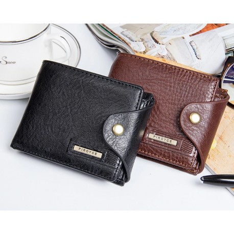 Men's Pocket Wallet in Genuine Leather