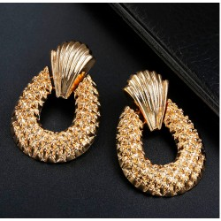 Fashion Earrings Maxi Golden Color