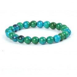 Natural Stone Chrysocolla Beads Bracelet