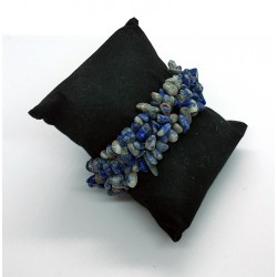 Sodalite Natural Stone Chips Beads Bracelet