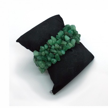Natural Aventurine Chip Beads Stone Bracelet