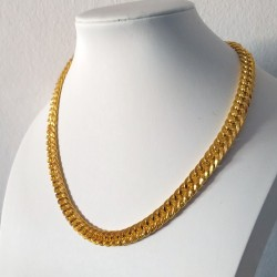 Gold Color Metal Chain Necklace