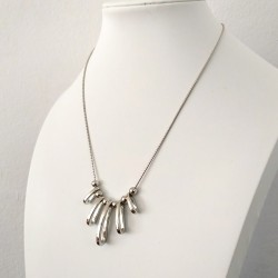 Fashion Silver Geometric Necklace for Women