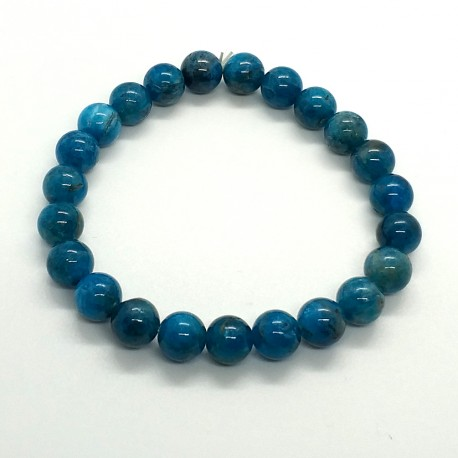 Natural Stone Apatite Beads 8mm Bracelet
