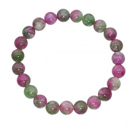 Natural Semiprecious Stone Sugilite Beads 8mm Bracelet