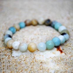 Natural Stone Amazonite Beads 8mm Bracelet