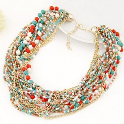 Bohemia Beads short Necklace Maracaibo